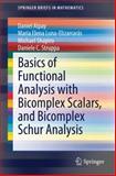 Basics of Functional Analysis with Bicomplex Scalars, and Bicomplex Schur Analysis, Alpay, Daniel and Luna-Elizarrarás, Maria Elena, 3319051091