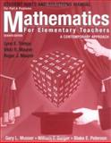 Mathematics for Elementary Teachers, Hints and Solutions Manual for Part A Problems : A Contemporary Approach, Musser, Gary L. and Burger, William F., 0471701092