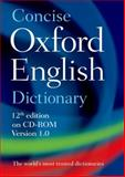 Concise Oxford English Dictionary, Oxford Dictionaries, 0199601097