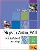 Steps to Writing Well with Additional Readings, Wyrick, Jean, 1413001092