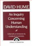 Hume : An Inquiry Concerning Human Understanding, Hendel, Charles W., 002353110X