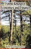 Forest Resource Economics and Finance, Klemperer, W. David, 0974021105