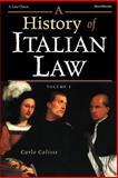 A History of Italian Law, Calisse, Carlo, 1587981106