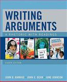 Writing Arguments, Ramage, John D. and Bean, John C., 0205681107
