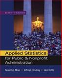 Applied Statistics for Public and Nonprofit Administration, Meier, Kenneth J. and Brudney, Jeffrey L., 0495501107