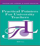 Practical Pointers for University Teachers, Bill Cox, 0749411104