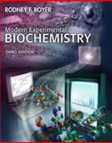 Modern Experimental Biochemistry, Boyer, Rodney F., 0805331115
