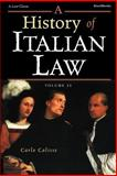 A History of Italian Law, Calisse, Carlo, 1587981114