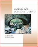 Algebra for College Students, Miller, Julie and O'Neill, Molly, 0072931116