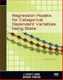 Regression Models for Categorical Dependent Variables Using Stata, Third Edition, J. Scott Long and Jeremy Freese, 1597181110