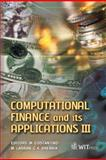 Computational Finance and Its Applications III, M. Costantino, M. Larran, C. A. Brebbia, 1845641116