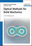 Optical Methods for Solid Mechanics, , 3527411119