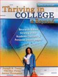 Thriving in College and Beyond : Research-Based Strategies for Academic Success and Personal Development Concise Version, Cuseo, Joe and Fecas, Viki S., 0757551114