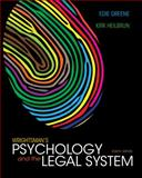 Wrightsman's Psychology and the Legal System, Greene, Edith and Heilbrun, Kirk, 1133951112