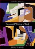 Successful Writing at Work, Kolin, Philip C., 0618481117