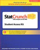 StatCrunch 6-month Standalone Access Card, West, Webster, 0321621123