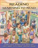 Reading and Learning to Read, Vacca, Jo Anne L. and Vacca, Richard T., 0205571123