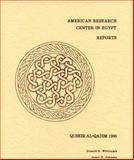 Quseir al-Qadim, 1980 : Preliminary Report, Whitcomb, Donald S. and Johnson, Janet H., 0890031126
