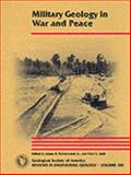 Military Geology in War and Peace 9780813741130