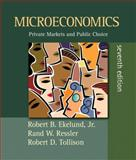 Microeconomics : Private Markets and Public Choice, Ekelund, Robert B., Jr. and Ressler, Rand W., 0321451139