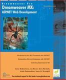 Dreamweaver MX : ASP .NET Web Development, Glasshaus Author Team, 1904151132