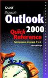 Microsoft Outlook 2000 Quick Reference, Kinkoph, Sherry, 0789721139