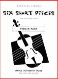 Six short Pieces, , 0193861135
