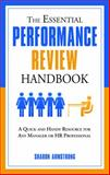 The Essential Performance Review Handbook, Sharon Armstrong, 1601631138