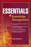 Essentials of Knowledge Management 1st Edition