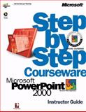 Microsoft PowerPoint 2000 Step by Step Courseware Trainer Pack, Perspection, Inc. Staff, 0735611130