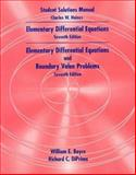 Boyce and Diprima's Elementary Differential Equations 7e and Elementary Differential Equations, Boyce, 047139114X