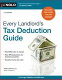 Every Landlord's Tax Deduction Guide, Stephen Fishman, 1413321143