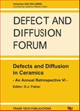 Defects and Diffusion in Ceramics 9783908451143