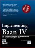 Implementing Baan IV, Perreault, Yves and Vlasic, Tom, 0789711141