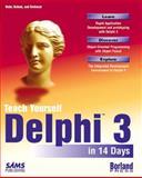 Teach Yourself Delphi 3 in 14 Days, Dan Osier, 0672311143