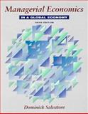Managerial Economics in a Global Economy, Salvatore, Dominick, 0070571155
