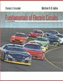 Fundamentals of Electric Circuits, Alexander, Charles and Sadiku, Matthew, 0073301159
