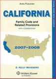 California Family Code and Related Provisions with Commentary, Weisberg, D. Kelly, 0735571155