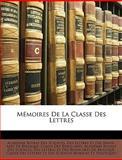 Mémoires de la Classe des Lettres, , 1148091157