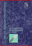 Automotive Electronics, Professional Engineering Publishers Staff, 1860581153