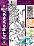 Art Nouveau Vector Motifs, Alan Weller, 0486991156