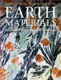 Earth Materials : Introduction to Mineralogy and Petrology, Klein, Cornelis and Philpotts, Anthony, 0521761158