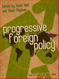 Progressive Foreign Policy, Held, David, 0745641156