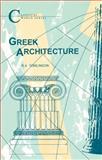 Greek Architecture, Tomlinson, R. A., 1853991155