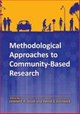 Methodological Approaches to Community-Based Research, Jason, Leonard and Glenwick, David, 1433811154