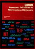 Reverse Acronyms, Initialisms and Abbreviations Dictionary, , 0787641162