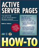 Active Server Page How-To 9781571691163