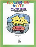 Color by Note Monsters, Sharon Kaplan, 0769261167