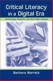 Critical Literacy in a Digital Era 9780805841169