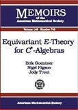 Equivariant E-Theory for C*-Algebras, Erik Guentner and Nigel Higson, 0821821164